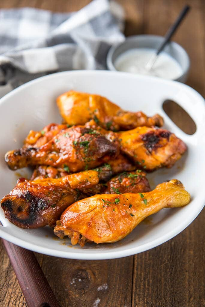 Slow Cooker Buffalo Chicken Drumsticks