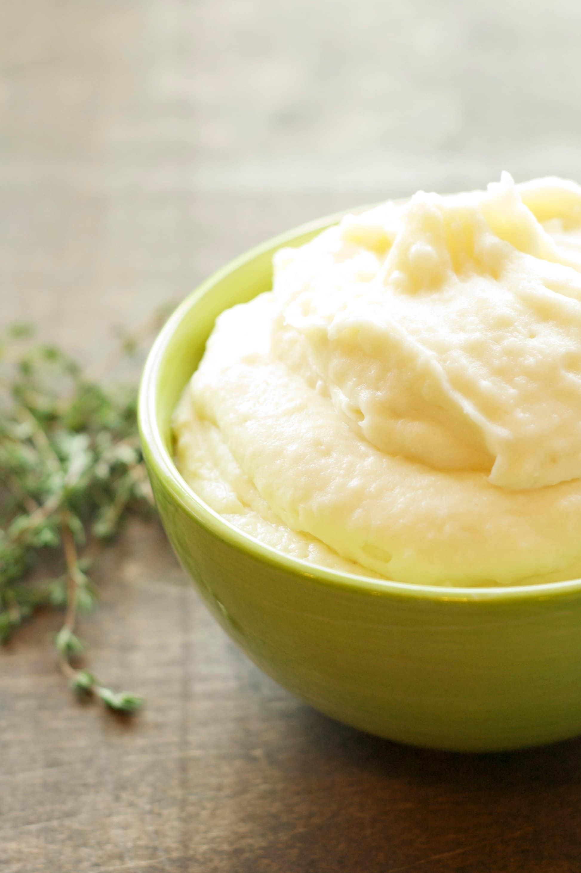 Slow Cooker Creamy Garlic Mashed Potatoes