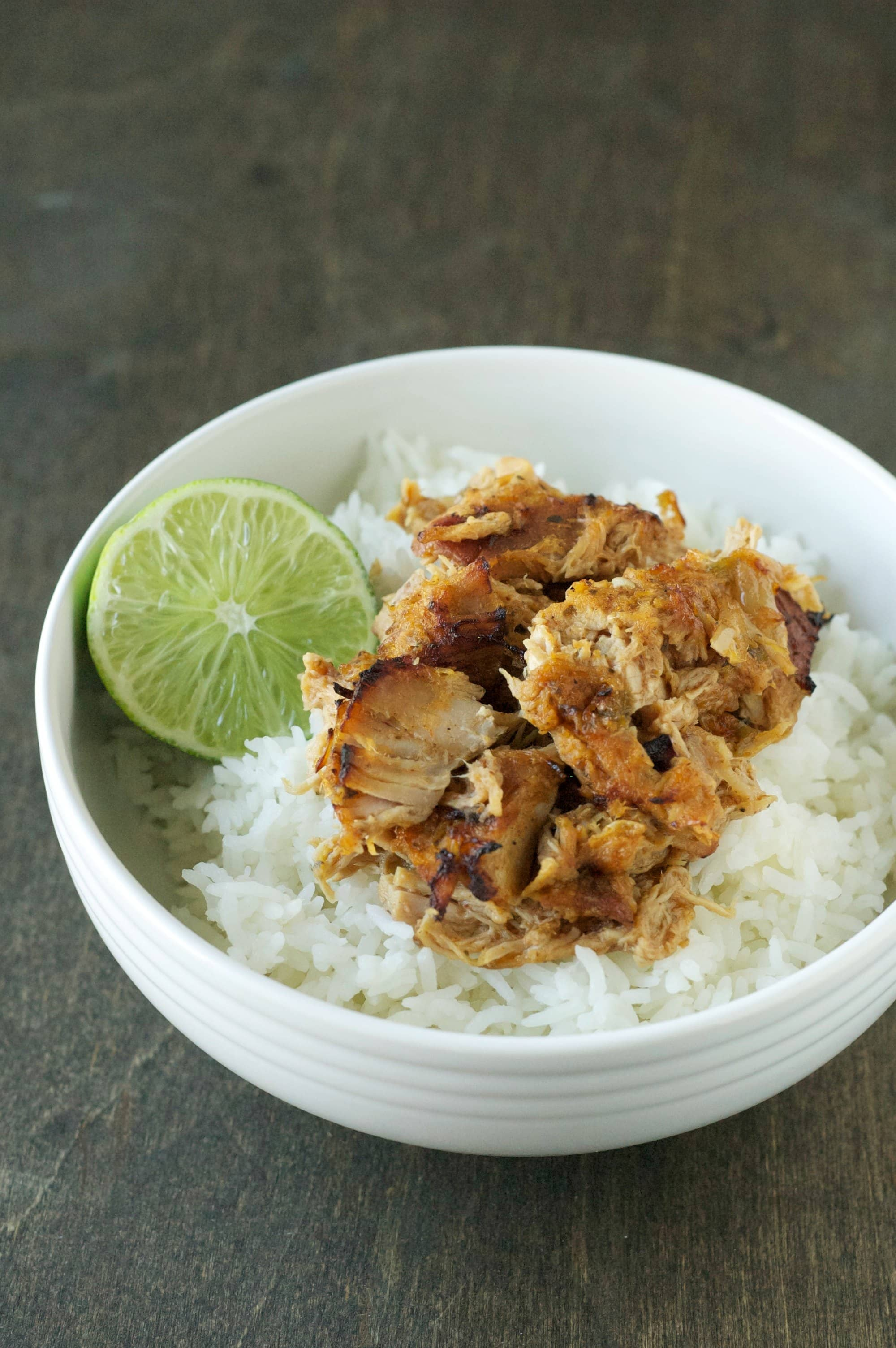Slow Cooker Crispy Garlic Citrus Carnitas