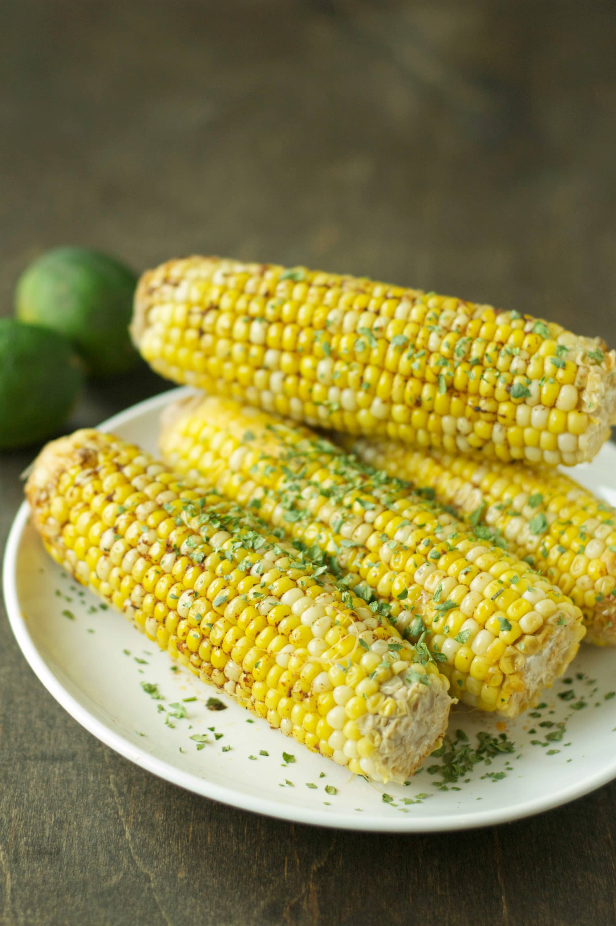 Slow Cooker Corn on the Cob with Chili Lime Butter