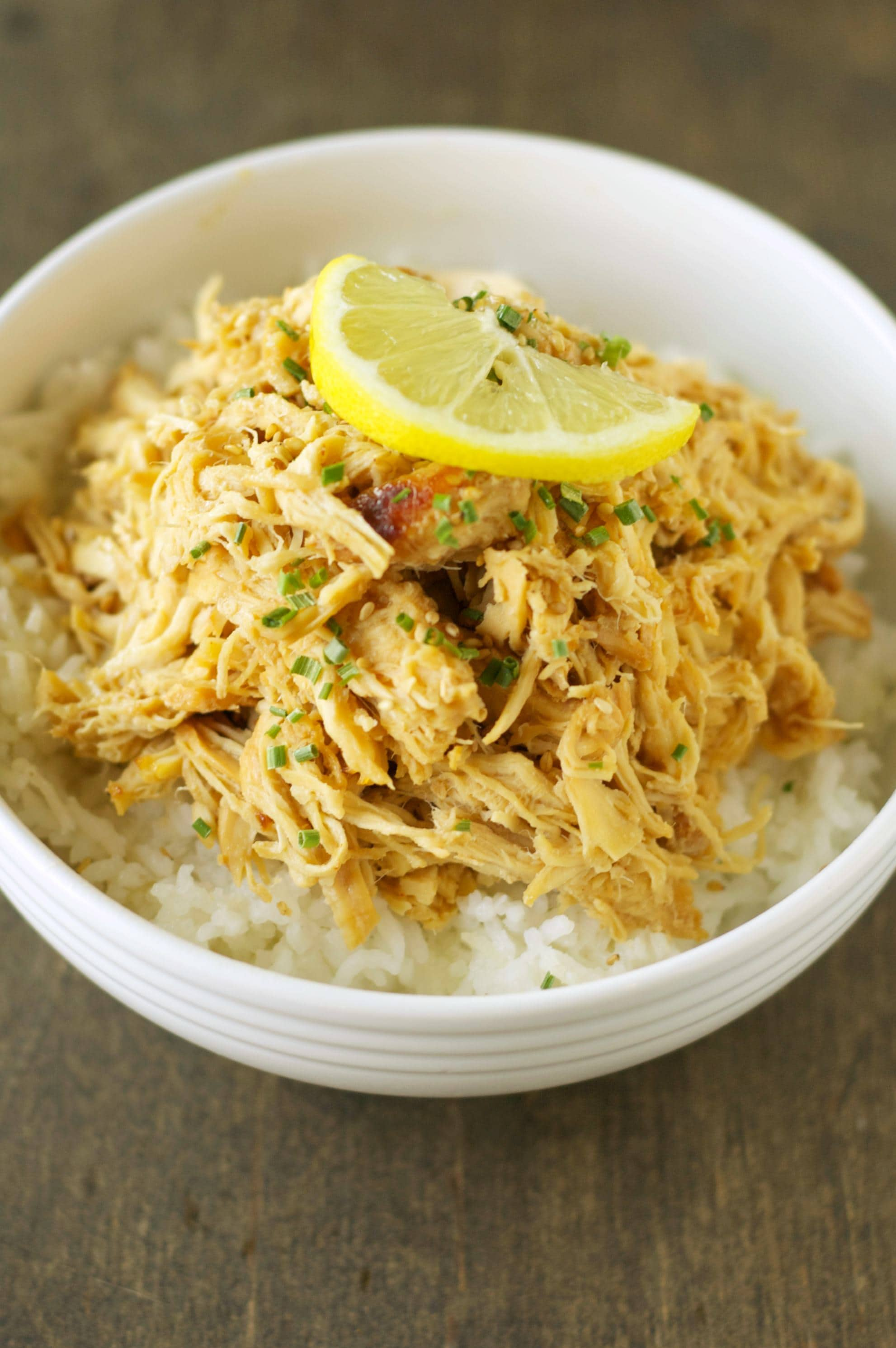 Slow Cooker Lemon Chicken