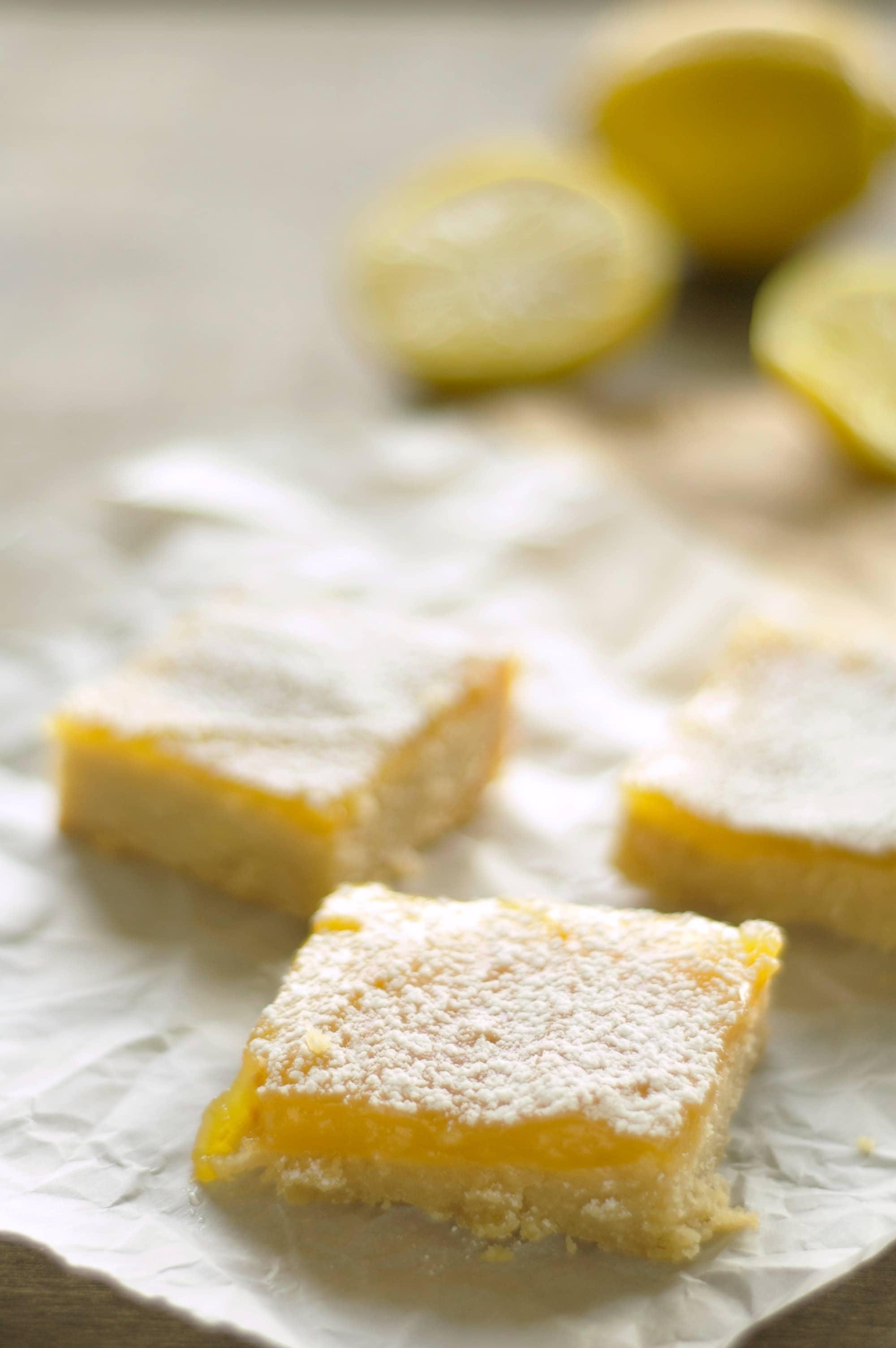 Slow Cooker Lemon Cookie Bars
