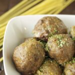 Slow Cooker Italian Meatballs with Quinoa