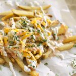 Slow Cooker Brown Gravy Enchilada Chili Cheese Street Fries