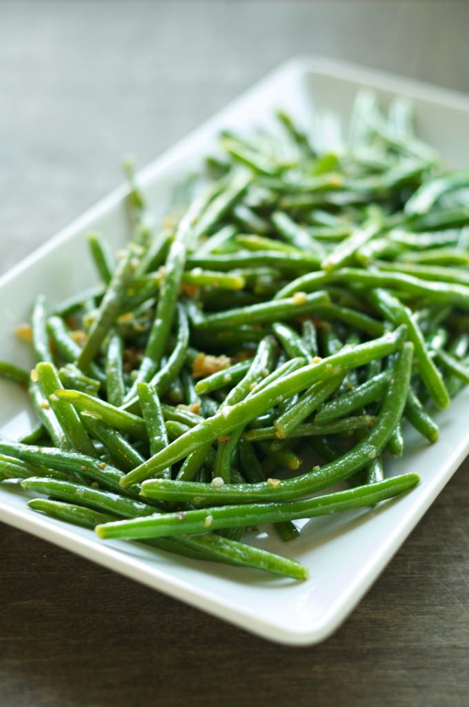 Crispy Garlic Onion Green Beans