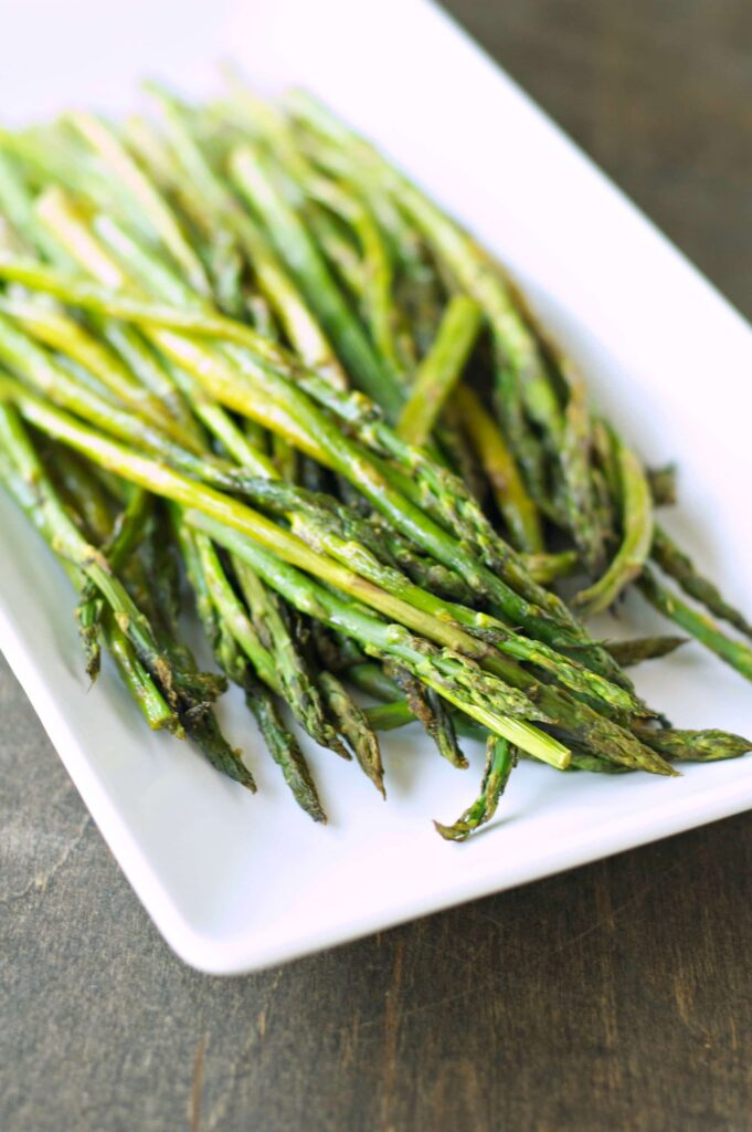 Lemon Pepper Roasted Asparagus