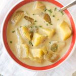 Slow Cooker Beer Cheese Soup with Potatoes