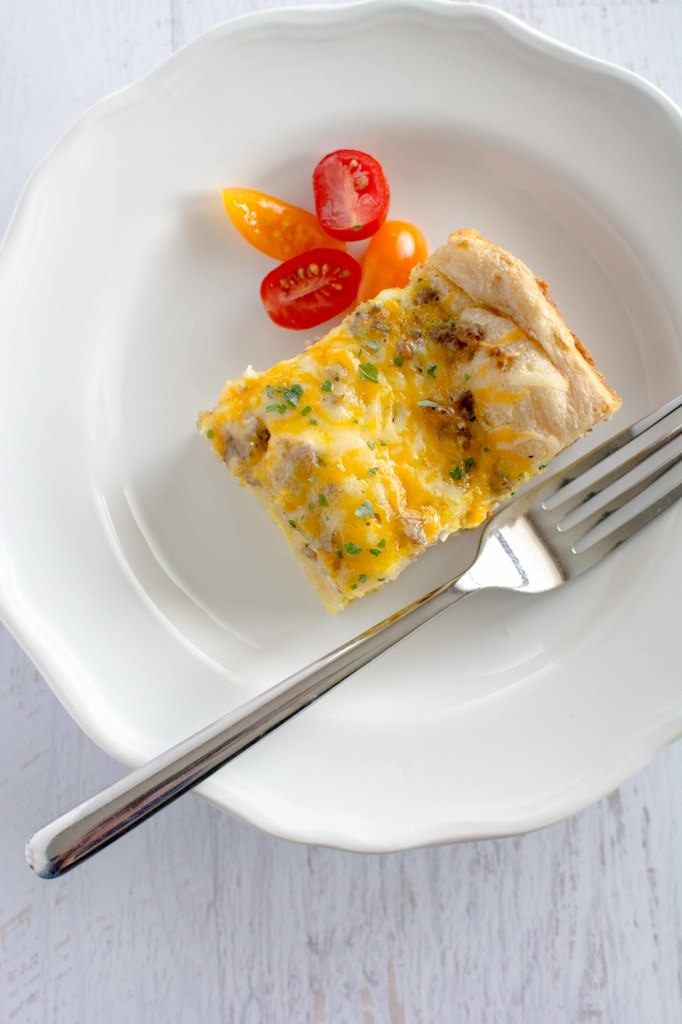Slow Cooker Easy Breakfast Casserole