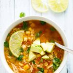 Slow Cooker Spicy Chicken Soup