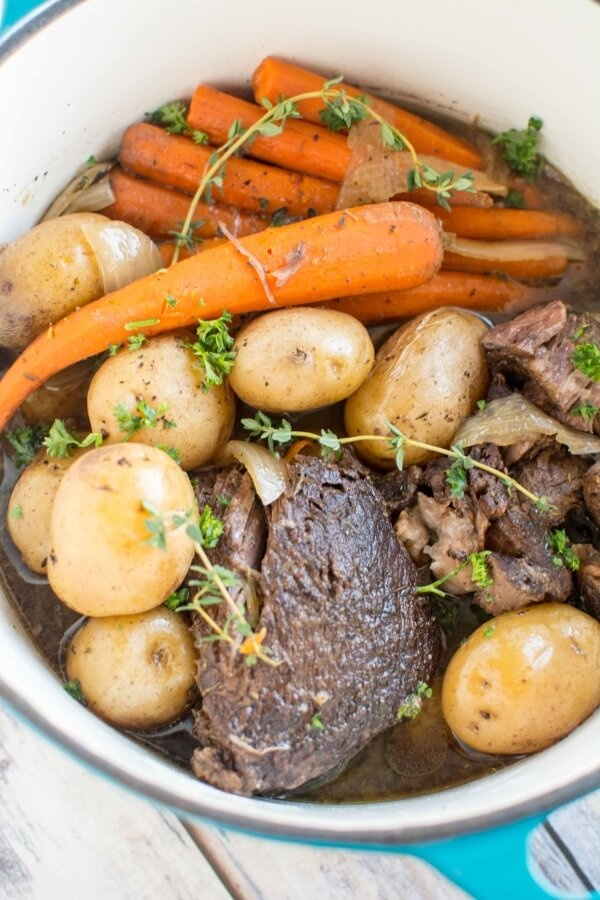 Slow Cooker Balsamic Roast