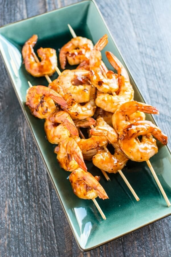 Raspberry Chipotle Shrimp