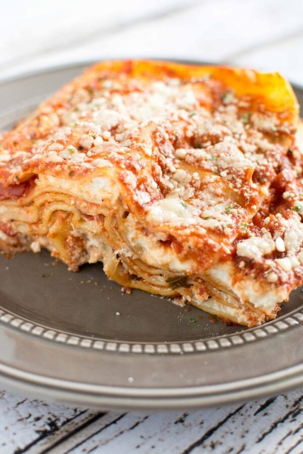 3 Ingredient Slow Cooker Lasagna