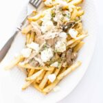 Slow Cooker Chicken Poutine