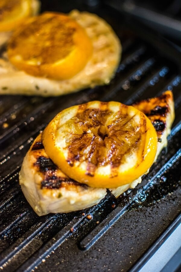 Grilled Citrus and Mustard BBQ Chicken