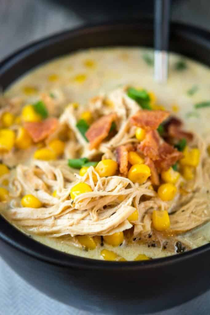 Slow Cooker Chicken Corn Chowder