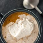Spiked Hot Chocolate with Cinnamon Whipped Cream