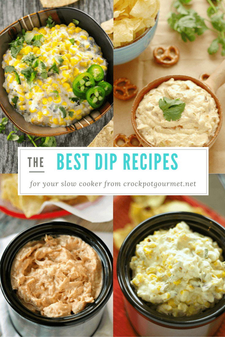 Slow Cooker Dips Round Up
