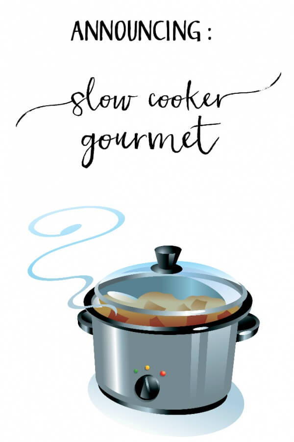 New Blog Name! Slow Cooker Gourmet!