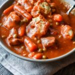 Slow Cooker Beef and Herbed Dumpling Stew