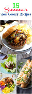 Summer Slow Cooker Recipes Roundup