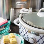 "Crock-Pot® ""Crock Squad"" Party + Crock-Pot® Slow Cooker Lime Twist Cheesecake Cookie Bars"