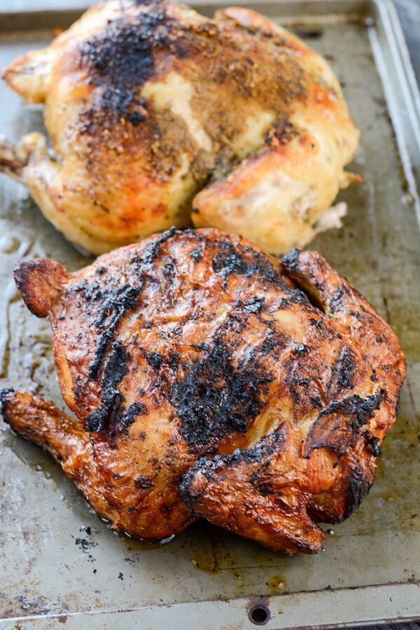 Whole Roast Chicken: Slow Cooked vs. Smoked