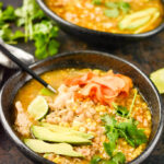 Slow Cooker Green Chicken Chili