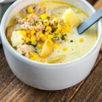 Slow Cooker Sausage and Potato Chowder