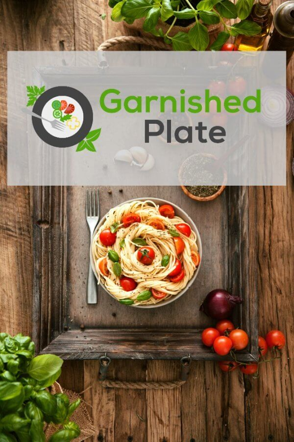 Meal Prep with Garnished Plate