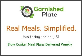 Garnished Plate Meal Plan