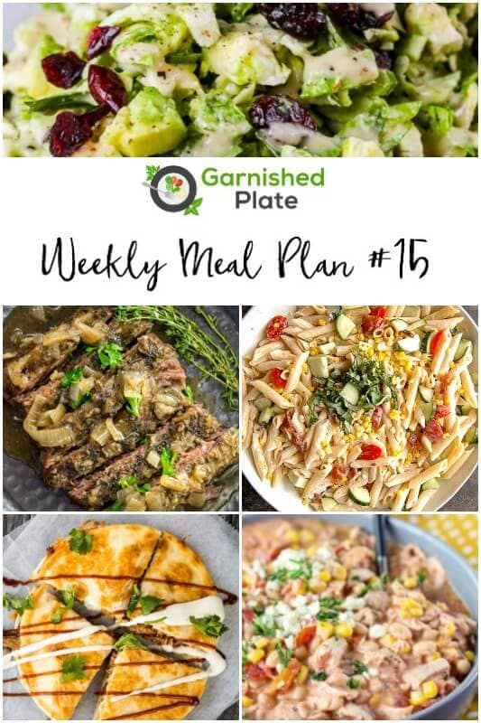 Garnished Plate Meal Plans - Simple Slow Cooker Meal Plans for your busy life!