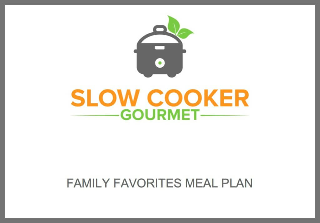 Family Favorites Meal Plan